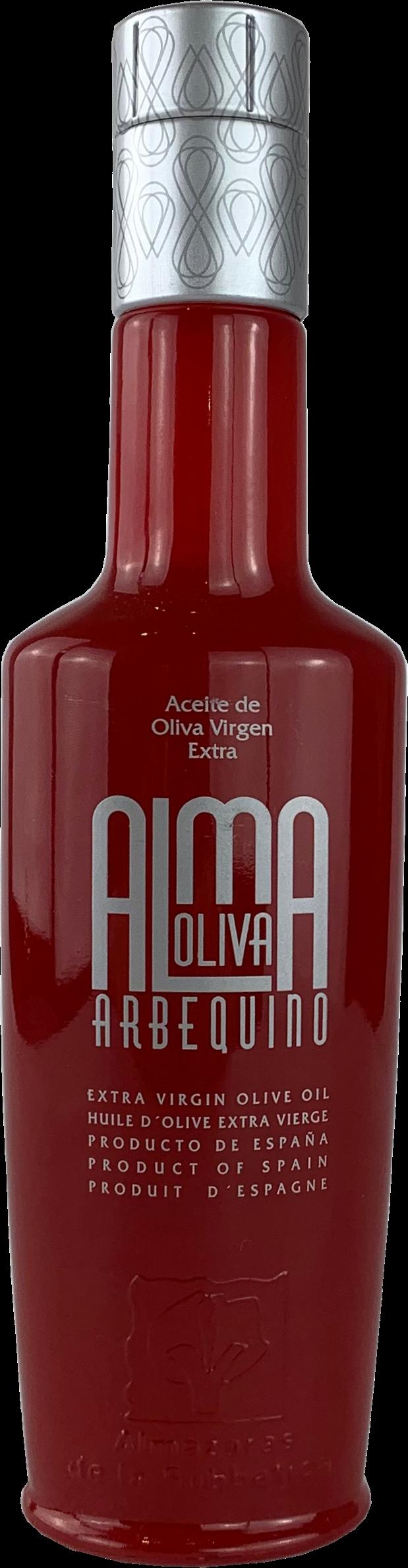 """AlmaOliva """"Arbequino"""" Olivenöl Virgen Extra 0,5L"""