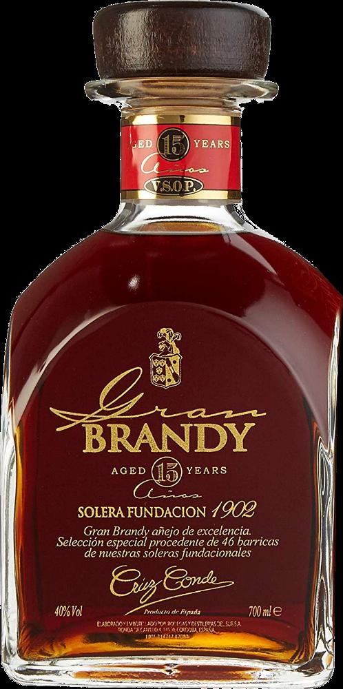 Gran Brandy Cruz Conde Selección Especial Solera Fundación 1902