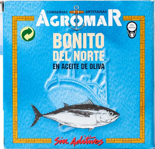 Agromar Bonito del Norte (Weißer Thunfisch in Olivenöl) 67g