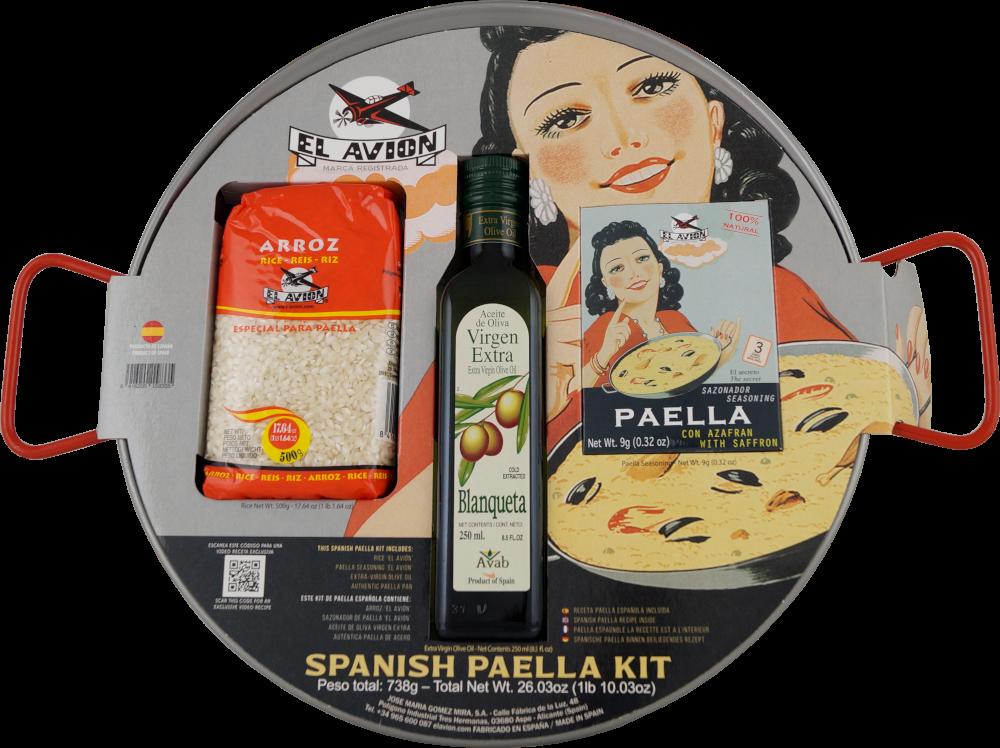El Avion Paella Kit für 6 Portionen