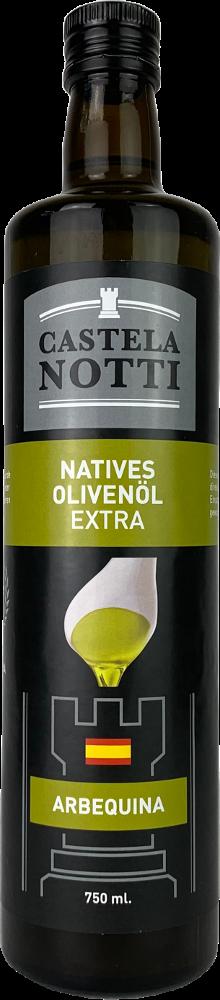 Castelanotti Aceite de Oliva Virgen Extra Arbequina 0,75l-Flasche