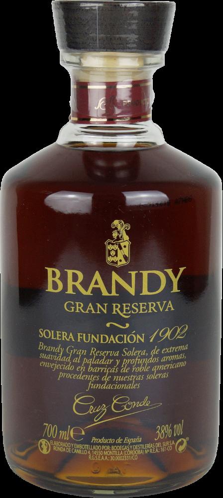 Brandy Cruz Conde Gran Reserva Solera 1902