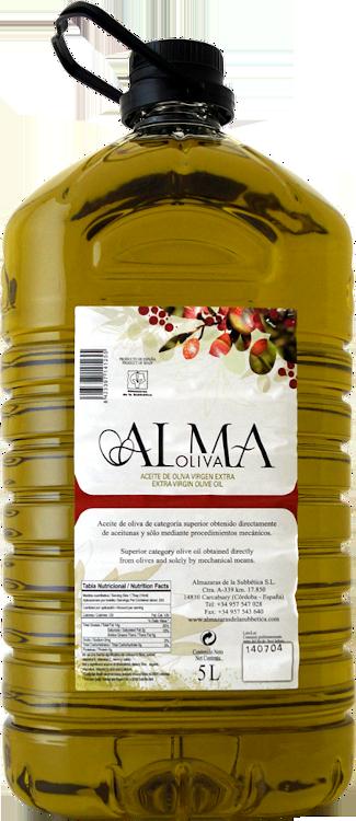 Alma Oliva Selección Aceite de Oliva Virgen Extra 5 L