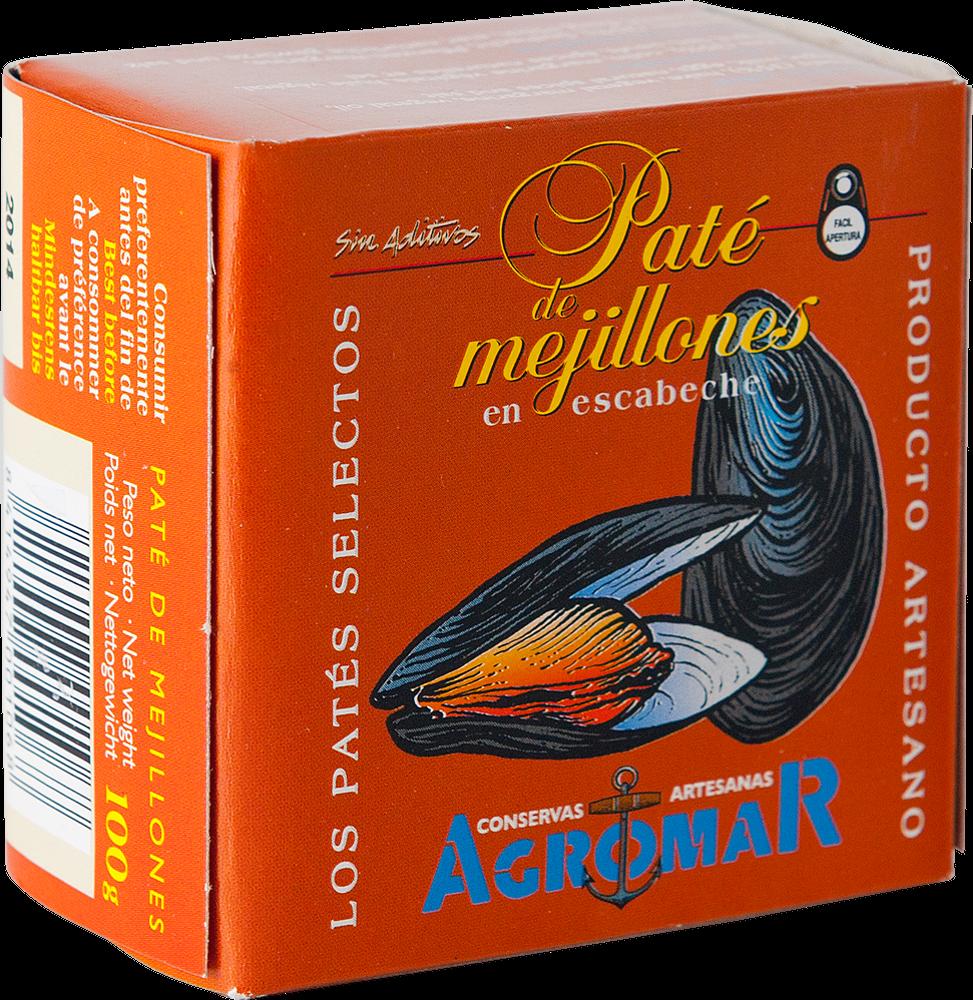 Agromar Paté de Mejillones (Muschel-Pastete)