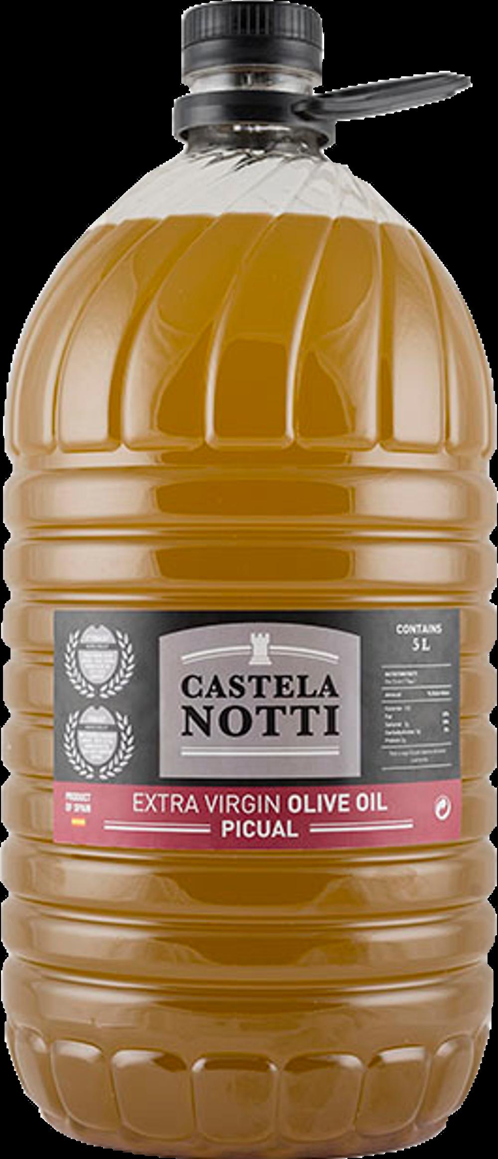 Castelanotti Aceite de Oliva Virgen Extra Picual 5L (PET)