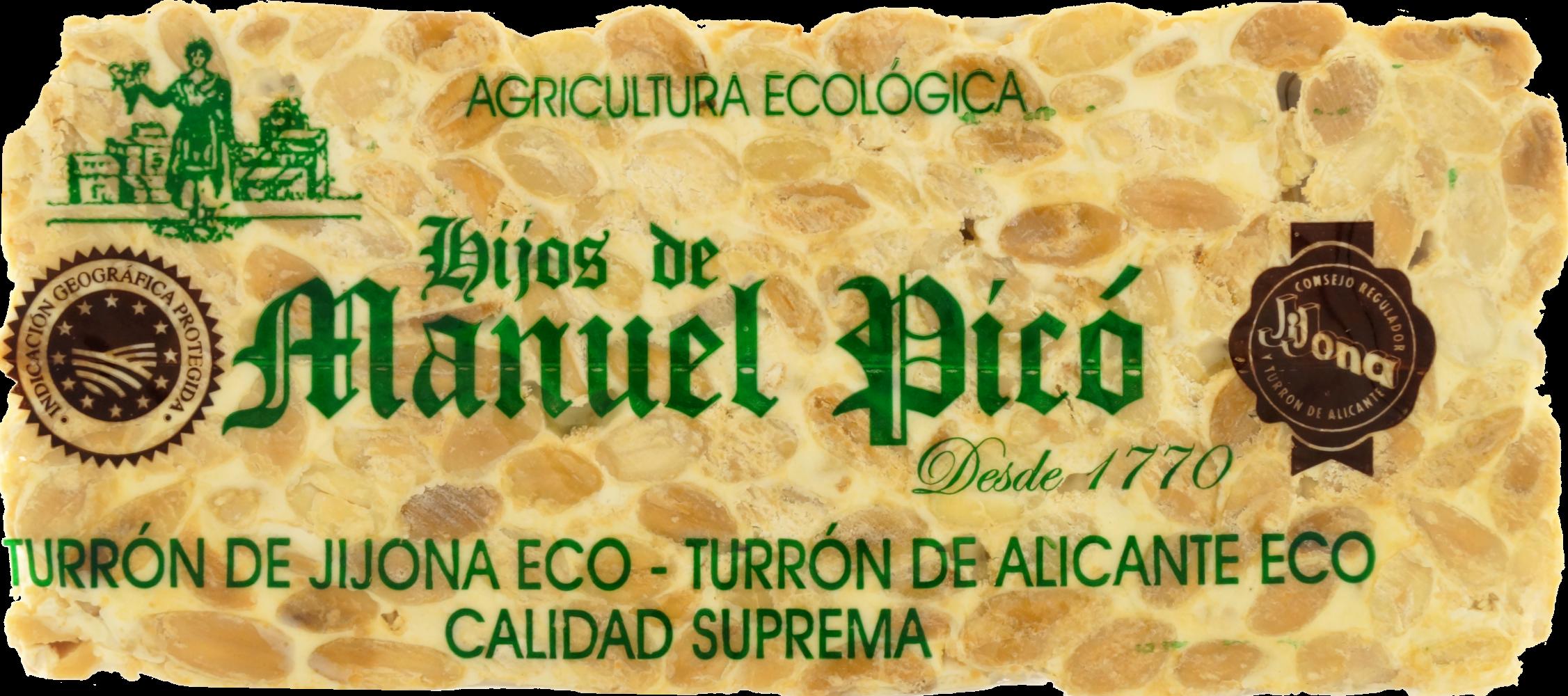 Turrón de Alicante Eco 200g