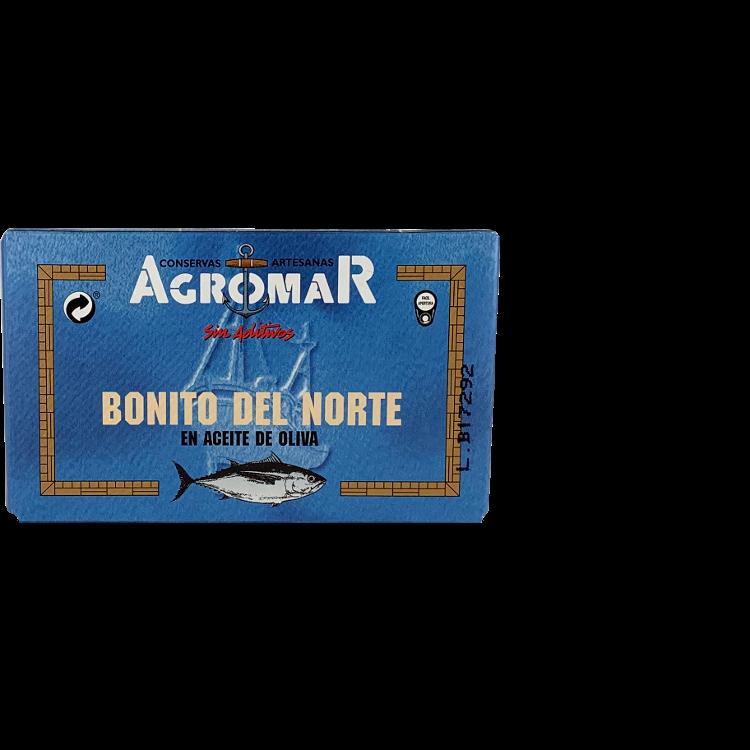 Agromar Bonito del Norte (Weißer Thunfisch in Olivenöl) 205g