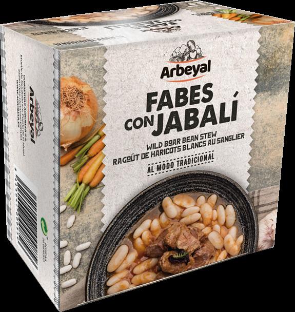 Agromar Fabes con Jabalí; Bohnen mit Wildschwein 420g