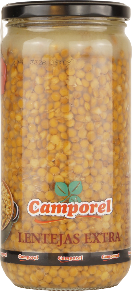 Camporel Lentejas al Natural Extra (Linsen) 500g
