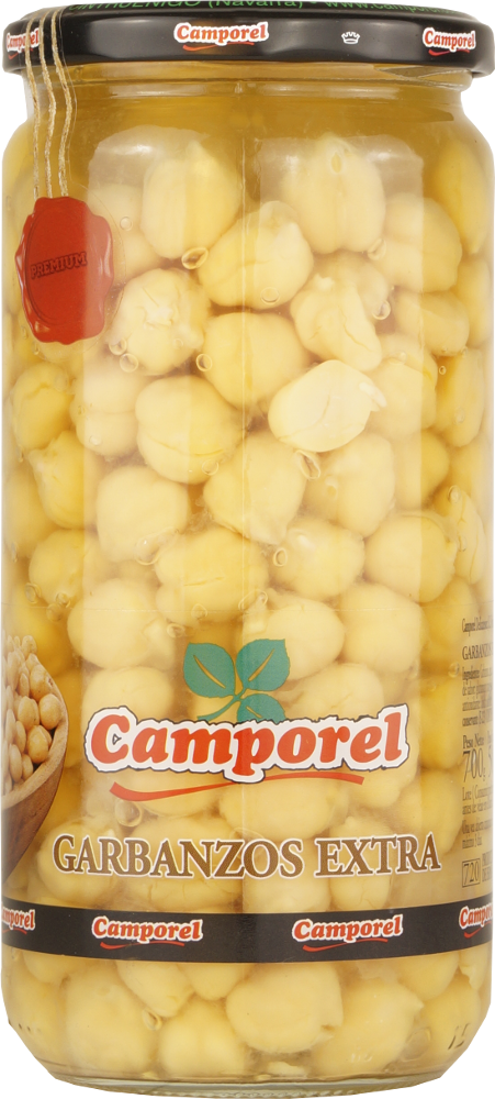 Camporel Garbanzos Extra (Kichererbsen) 560g