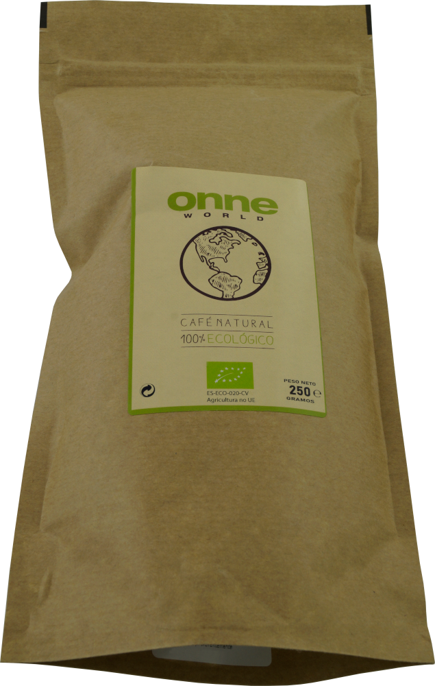 """Reke Café """"ONNE World"""" 100% Ecologic, ungemahlen, 250 g (Bio)"""
