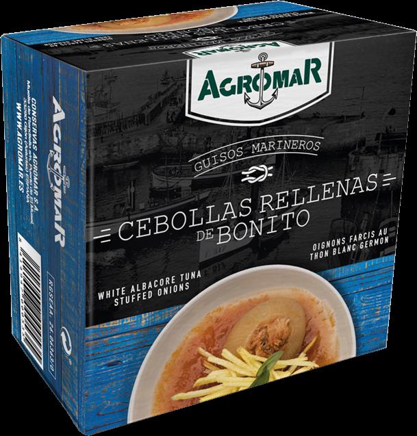 Agromar Lata de Cebollas rellenas de Bonito; Zwiebeln mit Thunfisch gefüllt
