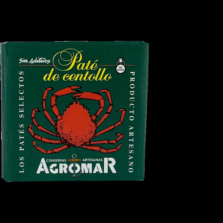 Agromar Paté de Centollo (Meerspinnen Pastete mit Sherry) 100g