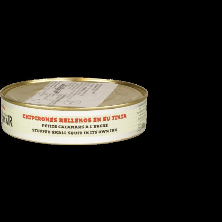 Agromar Chipirones (Gefüllter Tintenfisch eingelegt in eigener Tinte) 375g