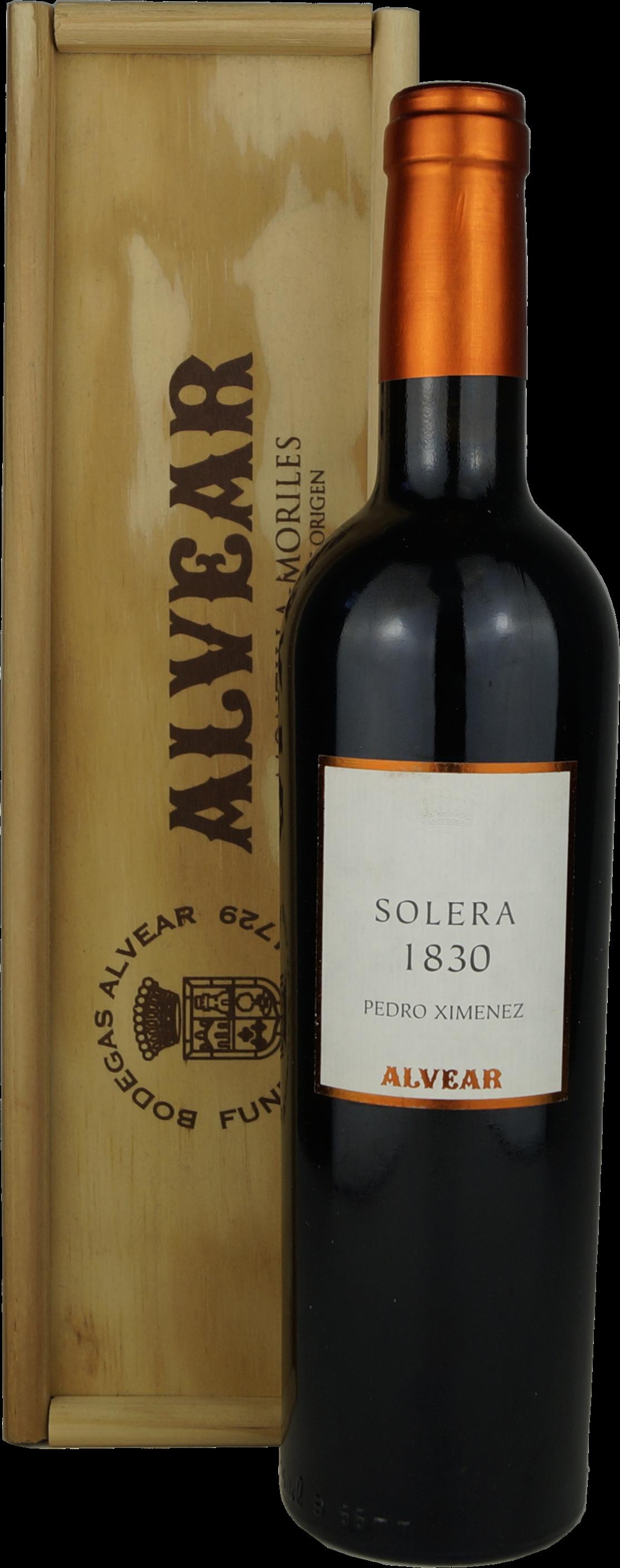 Alvear Solera 1830 Pedro Ximénez