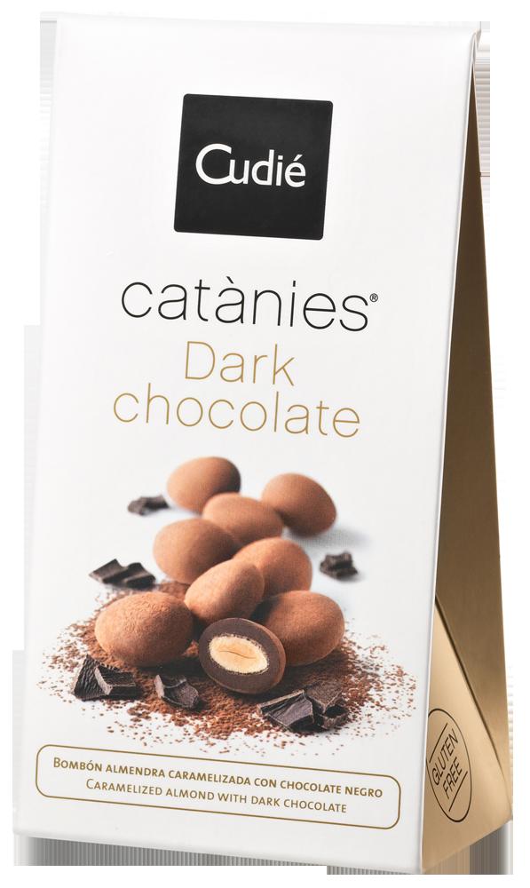 Catànies Dark Chocolate 80g-Packung