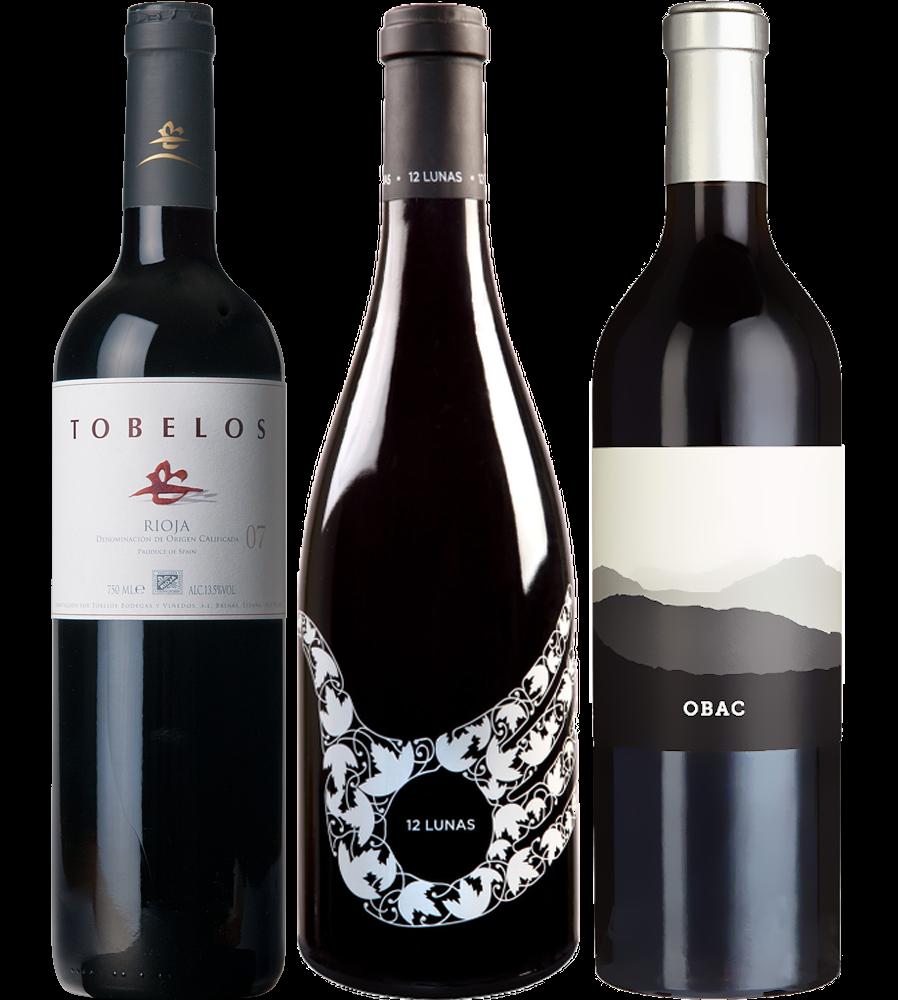 """Wein Probierpaket """"Barrica"""" - 3 Flaschen"""