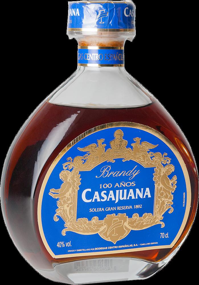 Brandy Casajuana Gran Reserva 100 años Solera 1892