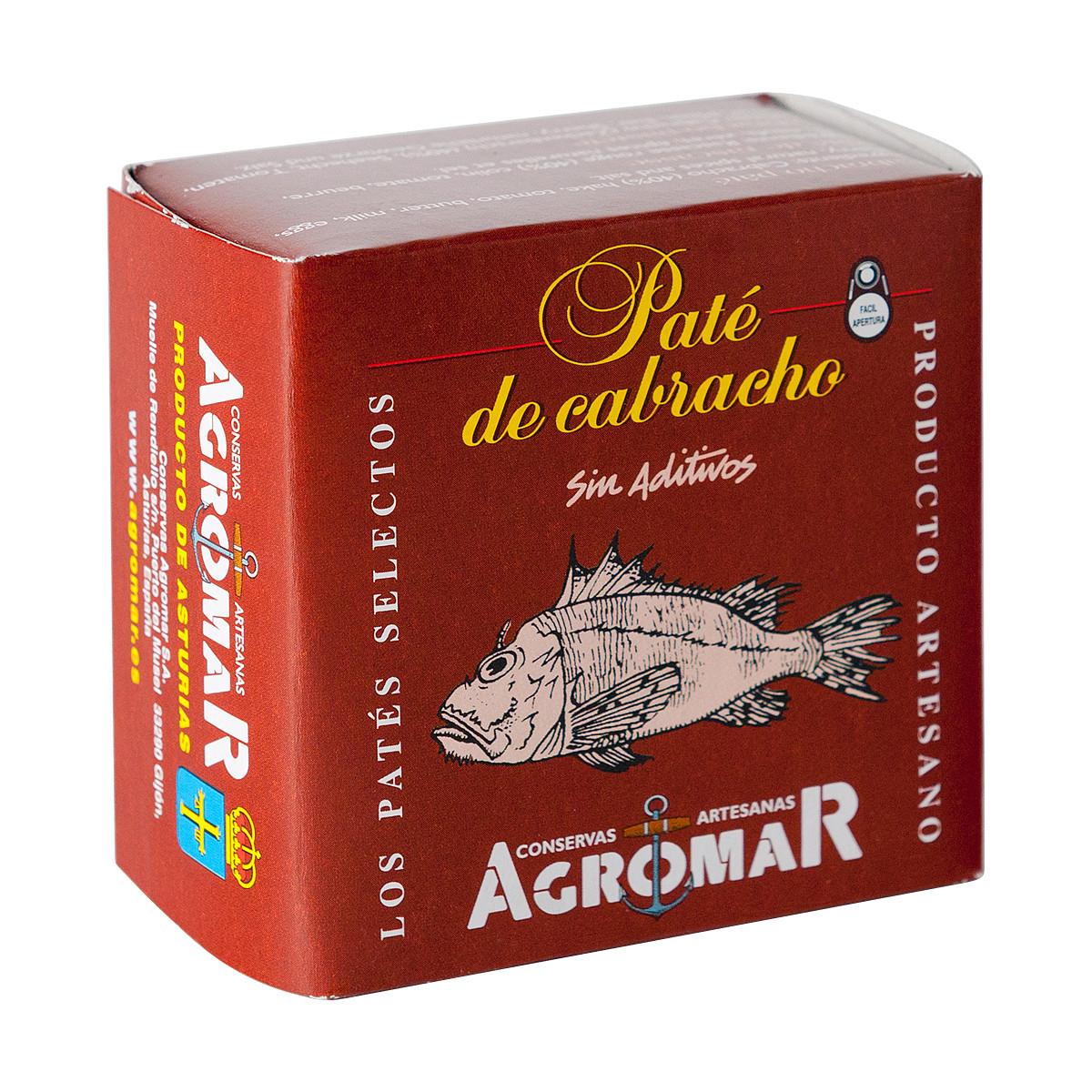 Agromar Paté de Cabracho (Zackenbarsch-Pastete) 100g